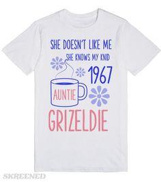 Auntie Grizeldie   She doesn't like me #Skreened