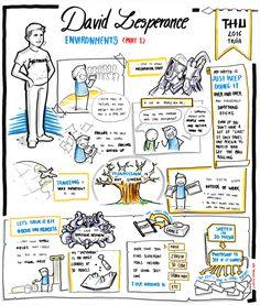 David Lesperance - Environments (part Sketch Notes, Movie Lines, Storyboard, Pitch, Environment, Doodles, David, Study, Canvas