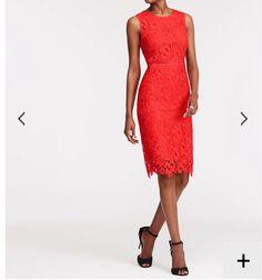 New fire orange dress
