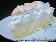 .COCINA CHILENA: PIE DE LIMON ,,,LEMON PIE