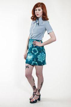 New Rasha Swais Collection. Subculture related womenswear designer Rasha Swais from London. Perfect Skinhead Girl clothing.
