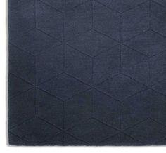 Illusory ILU04 Blue Rugs   Modern Rugs