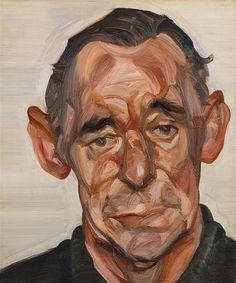 Portrait of John Deakin, 1963-64 // by Lucian Freud