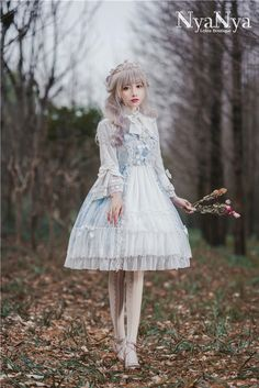 My-Lolita-Dress Official — LolitaUpdate:Carols~ Lolita Printed Hime Sleeves...