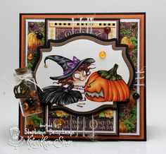 A World of Creative Possibilities: Kraftin' Kimmie Stamps : New release day 3, My Best Friends are Witches!