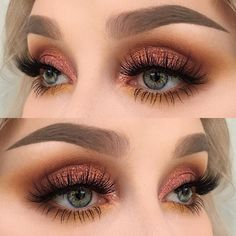 Top Trend 2018 eyebrow models & eye make-up - # eyes # eyebrows . - Augen Make-Up - Eye Make up Makeup Trends, Makeup Inspo, Makeup Inspiration, Makeup Ideas, Makeup Tutorials, Makeup Hacks, Eye Trends, Makeup Stuff, Hair Tutorials