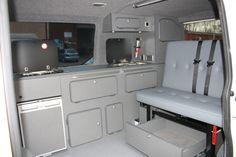 Campervan Conversion Furniture - VW T5, T4, Renault Trafic,Vivaro,Mercedes Vito | eBay