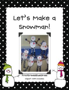 First Grade Blue Skies: Winter  The mitten unit too. Free penguins unit