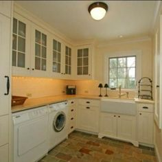 Scullery + Laundry Room = win?   I think between a kitchen and mud room would work great.