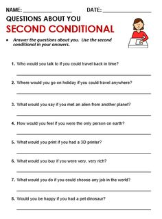 Grammar Quiz - Second conditional English Grammar Quiz, English Grammar Worksheets, School Worksheets, English Class, English Lessons, English Vocabulary, Teaching English, Spanish Grammar, Teaching Spanish