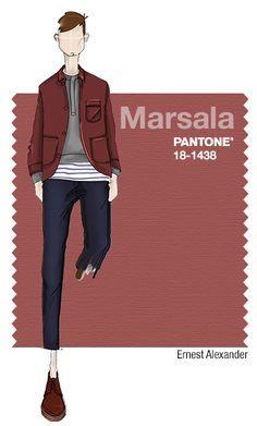 pantone mens fall fashion 2015 - Google Search