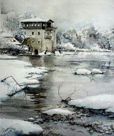 rukiye garip watercolor