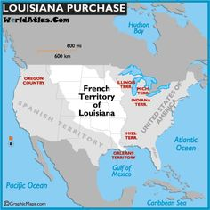 This Link Talks About The Louisiana PurchaseWestward Expansion A - Us westward expansion purchases maps