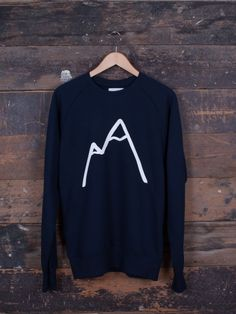 Simple Mountain Jumper Navy Blue The Level collective