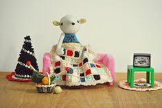 De Estraperlo: Conchita's crochet blanket free tutorial SO SIMPLE