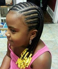 Would like for this to be a hairstyle for Chelsea with beads of blue and white