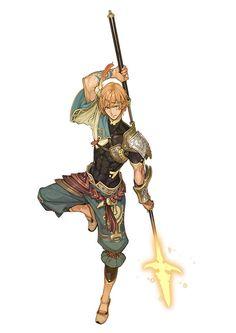 シャリーのアトリエ ~黄昏の海の錬金術士~ imagine my character in this outfit, with the spear. cool, huh?