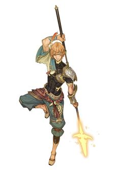 Fantastical Male Warrior