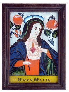 Ein Hinterglasbild aus Sandl, Österreich, ca. Kandinsky, Cover, Books, Art, Christianity, Pictures, Art Background, Libros, Book
