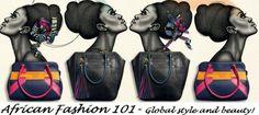 African Fashion 101 - www.elegancy101.com