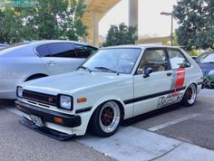 Toyota Starlet, Old School Cars, Japan Cars, Toyota Cars, Modified Cars, Jdm Cars, Toyota Corolla, Toyota Land Cruiser, Cars And Motorcycles