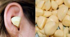 Ecco cosa succede se si inserisce uno spicchio di aglio nell'orecchio