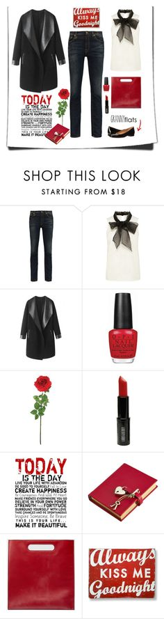 """""""Would your granny wear this?"""" by sherry7411 ❤ liked on Polyvore featuring R13, Columbia, OPI, Laura Cole, Lord & Berry, Universal Lighting and Decor, Graphic Image, Gucci, Go Jump in the Lake and Calvin Klein"""