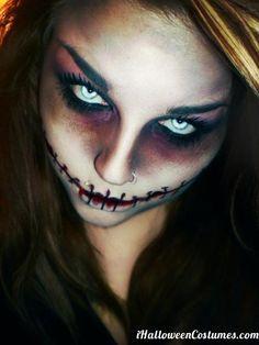 sugar skulls makeup - Google Search