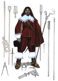 Gunner - English Civil War 1642 - 1651