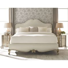 Interior HomeScapes offers the Night And Day Cal King Bed by Caracole. Visit our online store to order your Caracole products today. Classic Bedroom Furniture, Bed Furniture, Modern Bedroom, Furniture Design, Caracole Furniture, Furniture Stores, Cheap Furniture, Furniture Ideas, Furniture Layout