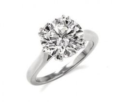 Yessss!!!!!! Harry Winston Round Brilliant Solitaire