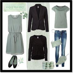 """Verde menta"" by axouxere-moda-complementos on Polyvore"