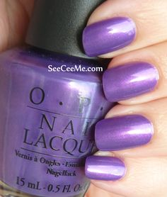 Purple with a Purpose, OPI