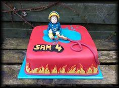 Fireman Sam cake / Brandweerman Sam taart