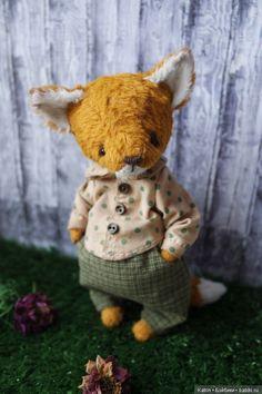 Ирина Труничева сделала ПОДАРОК — выкройка игрушки лисёнка Матвейки с одеждой.