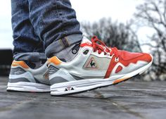 Highs and Lows x Le Coq Sportif R1000 White Swan - 2014 (by Matt Parker)
