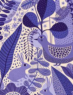 Enchanted Garden . . . by Helen Dardik