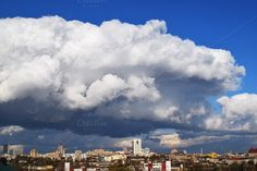 Donetsk city panorama by Brylov Market on Sky And Clouds, Cold Weather, Skyline, Marketing, City, Outdoor, Design, Outdoors