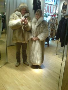 I bought that parka in Chicago. At night we went out in the same style as on the pic. We had a great night. :-)