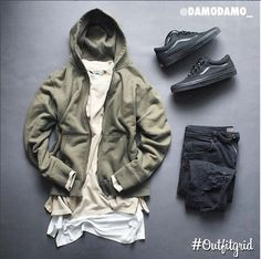 Outfitgrid started as a way of bringing the community together to showcase style. Swag Outfits, Sport Outfits, Cool Outfits, Fashion Outfits, Male Outfits, Urban Fashion, Mens Fashion, Street Fashion, Hype Clothing
