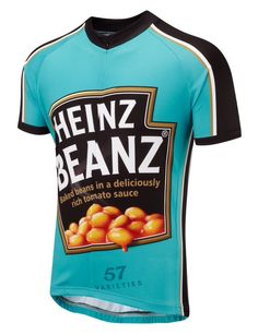 Just one of 57 varieties. Team Heinz  #cyclejersey  @TheRideJournal #cycling #branding  via @tomjohn001