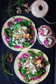 New Recipes, Vegetarian Recipes, Cooking Recipes, Healthy Recipes, Halloumi, Tasty, Yummy Food, Food Court, Recipes From Heaven