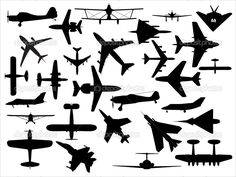 depositphotos_3816734-Airplanes-silhouettes-vector-pack.jpg (1024×768)