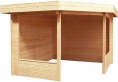 Prieeltje / paviljoen model Zilverplevier afmetingen 358 x 358 cm van Woodvision