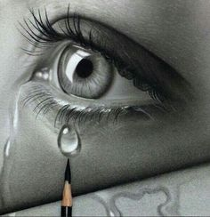 drawings sad 39 trendy Ideas for drawing sad eyes art 39 trendy Ideas for drawing sad eyes art Pencil Art Drawings, Art Drawings Sketches, Eye Drawings, Realistic Eye Drawing, Drawing Eyes, Crying Eye Drawing, Sad Eyes, Eye Art, Pencil Portrait