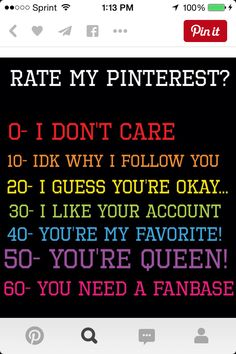 Please comment and Be 100percent honest