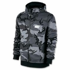 Men's Nike Woodland Camo Full-Zip Hoodie