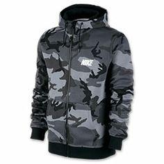 Men's Nike Woodland Camo Full-Zip Hoodie