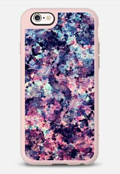 Teal, Black, and Pink Granite Marble Stone Abstract Pattern iPhone 6s case by BlackStrawberry | Casetify
