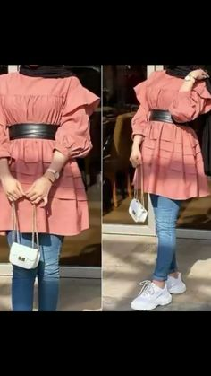 Hijab Casual, Modest Fashion Hijab, Modern Hijab Fashion, Pakistani Fashion Casual, Street Hijab Fashion, Korean Girl Fashion, Muslim Fashion, Fashion Jobs, Fashion Trends